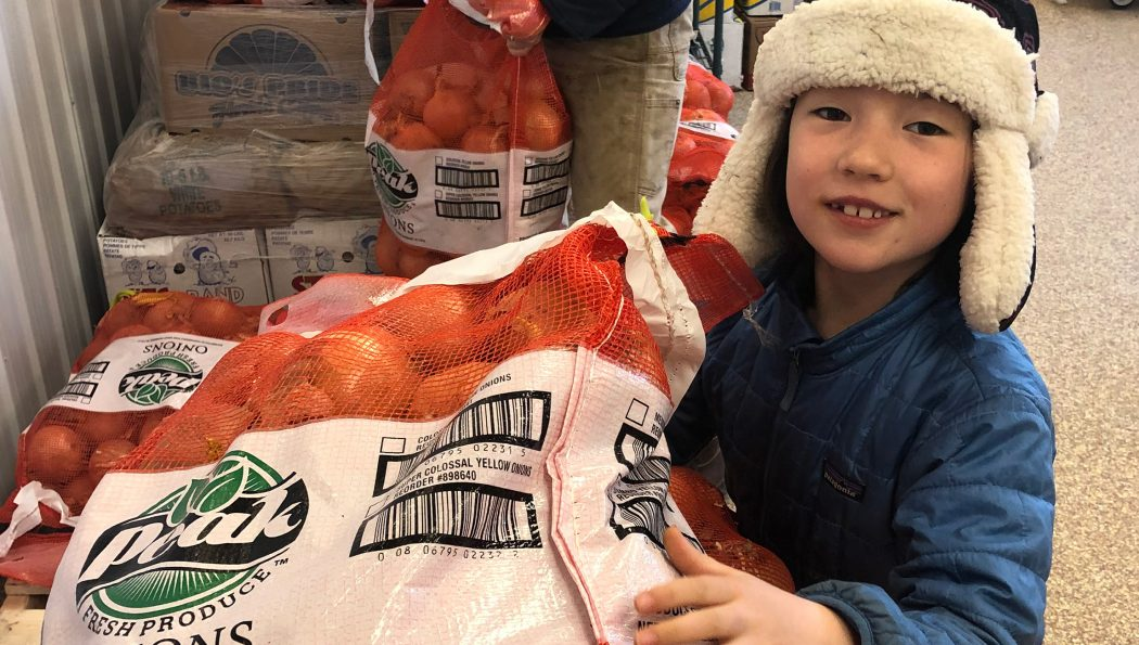 TVFF supports food pantries with storage hub